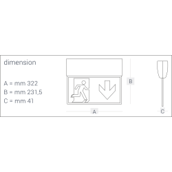 HP330 išmatavimai