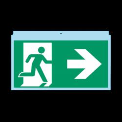 Evakuacinis ženklas...
