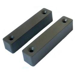 Išorinis magnetinis kontaktas, atstumas 30mm, rudas