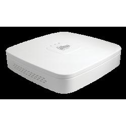 IP vaizdo kamerų įrašymo įrenginys, 1 HDD, 4 kan., 4 PoE, NVR2104-P-4KS2