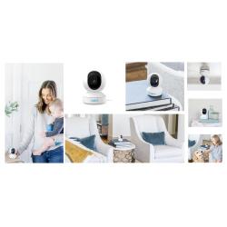WiFi vaizdo kamera, 4 MP, IR 12 m, su judesio davikliu, mikrofonu, E1 Pro