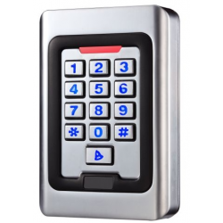 Durų valdiklis su klaviatūra ir kortelių skait. IK079