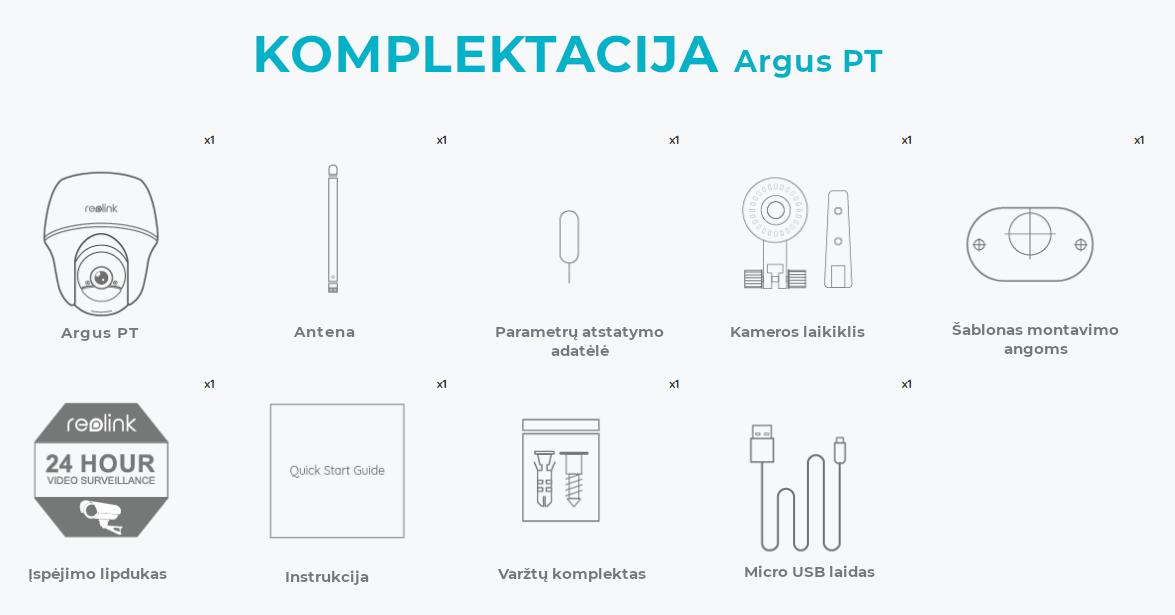 Argus PT komplektacija